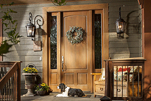 Entry door by Rogue Valley Door Company